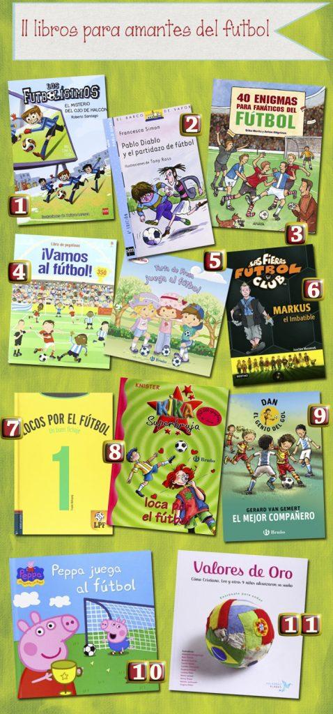 libros sobre futbol para niños