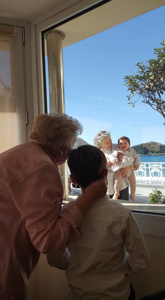 La bisa abuelos